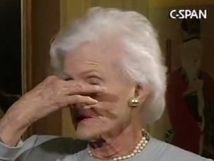 Roberta McCain Holds Her Nose