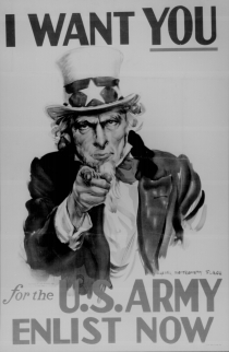 Uncle Sam Needs You! - courtesy of the National Archives